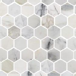 <h2>Calcatta Gold Hexagon Mosaics</h2>
