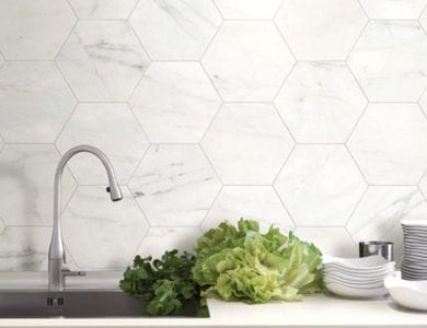 6 Simple tips for creating a hexagonal tile focus in your home